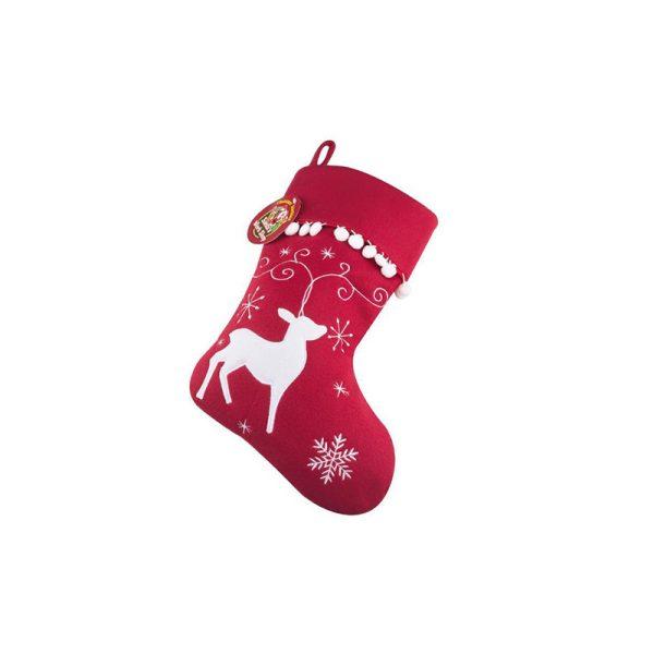 Luxury Reindeer Stocking
