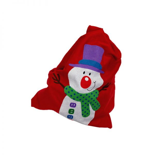 Snowman Christmas Sack